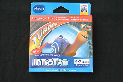 VTech InnoTab Learning Software Turbo Ages 4-7 Spelling Vocabulary Reading Q02