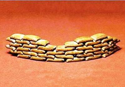 Sand Bags Set # T 35025 48 sandbags 1/35 Scale kit by TAMIYA 35025 UNBOXED