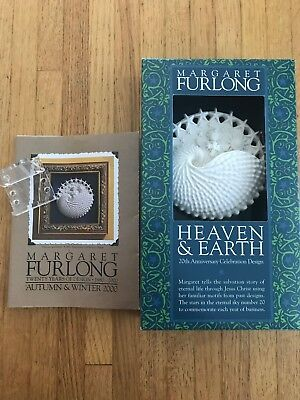 "Margaret Furlong Heaven and Earth - 20th Anniversary Celebration Design 4"" MIB c"