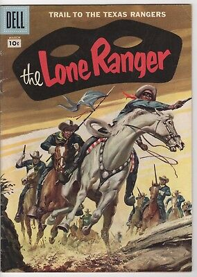 LONE RANGER #105 Dell BEAUTIFUL PAINTED COVER