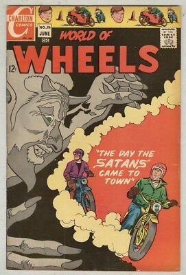 World of Wheels #26 June 1969 VG+ Devil cover