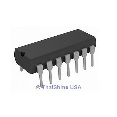 5 x CD4071 CD4071BE 4071 Quad 2-input OR Gate IC - USA Seller - Free Shipping