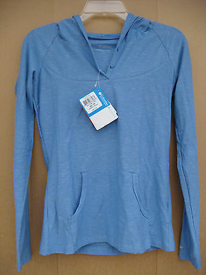 "Columbia Womens Xs ""rocky Ridge Hoodie"" Pullover Blue Nwt"