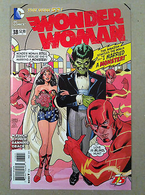 "Wonder Woman (2011) #38 Terry Dodson ""flash 75Th"" Variant Cover Nm 1St Printing"