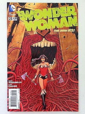 Wonder Woman (2011) #23 Brian Azzarello Cliff Chiang Vf/nm 1St Printing Movie 52