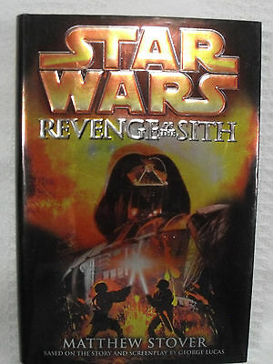 2005 Star Wars HC First Edition Book Del Rey Episode III Revenge of the Sith