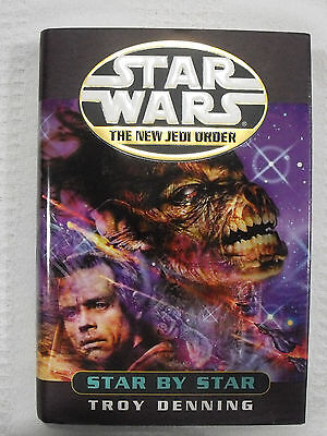 2001 Star Wars HC First Edition Book Del Rey The New Jedi Order Star By Star