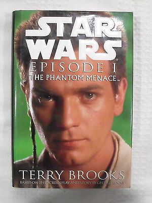 1999 Star Wars HC First Edition Book Del Rey Episode I The Phantom Menace