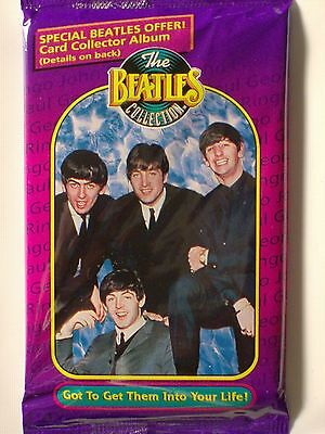 The Beatles Collection Trading Cards Sealed Pack of 10 cards