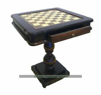 Italfama Beech Chess Table with Drawer (58cm)