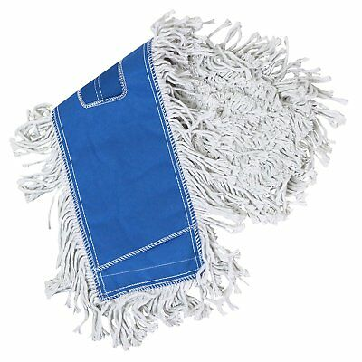 Tricol 38487 Launderable Replacement Dust Mop, Cotton, 5.5 x 24-Inch