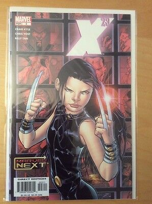 X-23 3, Nm+ 9.6, 1St Print, Origin Laura Kinney, Marvel Next, 2005