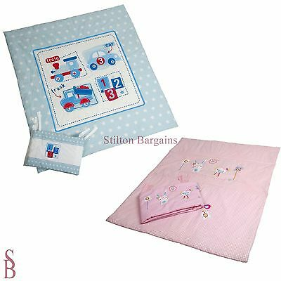 Baby Quilt and Bumper Set - BNIB - duvet bedding