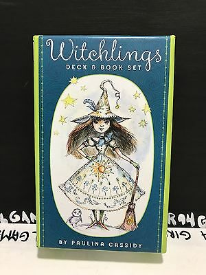 Witchlings Deck & Book Set by Paulina Cassidy - Spell Book & Spell Energy Cards