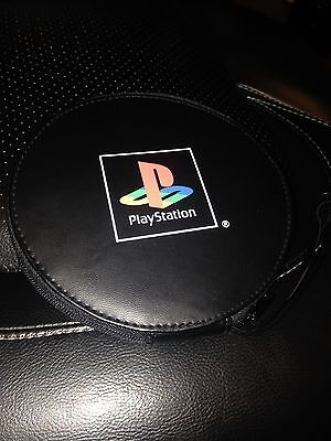 Playstation CD/DVD Binder CD Case / Pouch NEW Holds 22 CD's Retro PS Logo