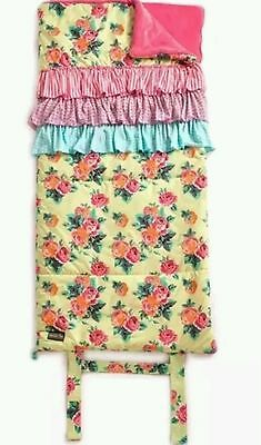 "Matilda Jane Rosy Outlook Yellow Sleeping Bag Euc Once Upon A Time 56"" X 27"""