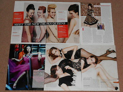 6- ROBIN MCLEAVY Magazine Clippings