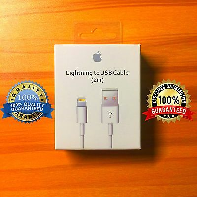 GENUINE Lightning Cable For Apple iPhone 6 plus 6s 6s plus 7 Charger (2m)