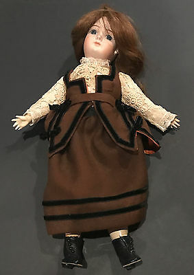 """Francois Gaultier 15"""" Reproduction Vintage Vernon Seeley 1979 Doll Antique Style"""