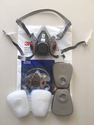 3M Complete 6200 Spray Painting Mask *Aus Seller + Stock*
