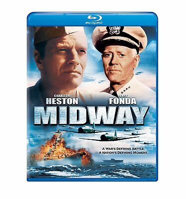 MIDWAY Blu-ray New & Sealed + FREE SHIPPING!!! #WarMovie #Drama #WWII #Epic