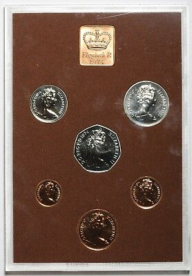 1974 Queen Elizabeth Ii Great Britain Commemorative Proof Coin Set