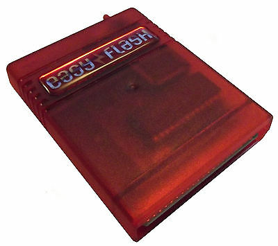 Commodore 64 The Easy Flash Red Cartridge Assembled & Loaded!