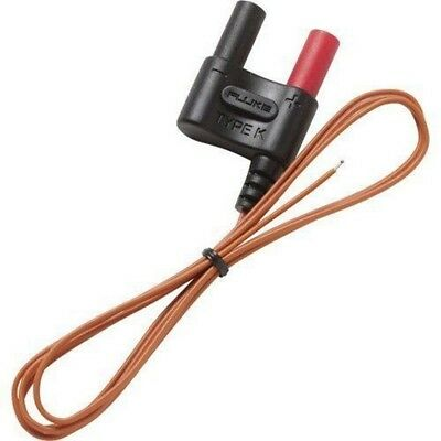 Fluke 80BK-A Type K Multimeter Thermocouple Temperature Integrated Probe Cable