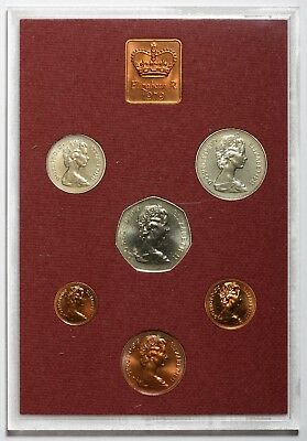1979 Queen Elizabeth Ii Great Britain Commemorative Proof Coin Set