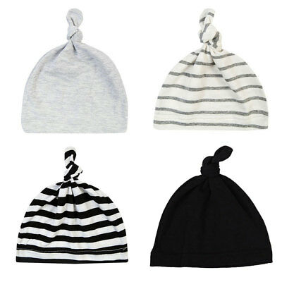 Fashion Baby Newborn Toddler Infant Boy Girls Cotton Knot Sleep Hat Cap Beanie