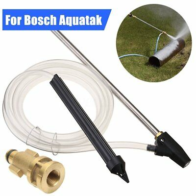 Pressure Washer Sand Blasting Blaster Wet Blast Nozzle Gun Kit For Bocsh Aquatak