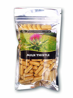 Milk Thistle ( 80% Silymarin, 20:1 equivalent to 8,000mg) 30-90 Veg Capsules