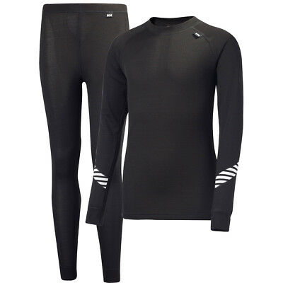 Helly Hansen Lifa Base Layer Set, Black
