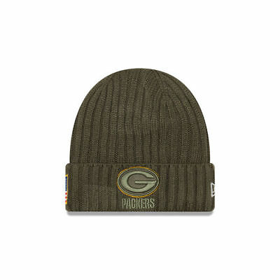 Green Bay Packers Salute To Service 17 New Era Knit