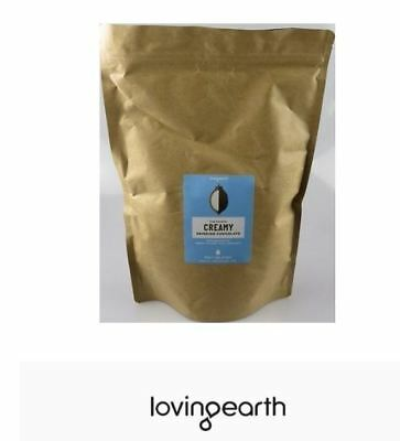 4 x 1kg LOVING EARTH Creamy Drinking Chocolate ( total 4kg )