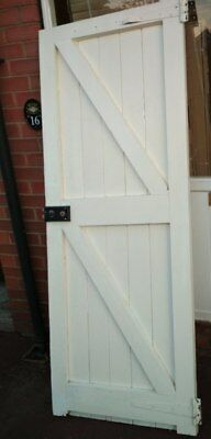 traditional ledged and braced door