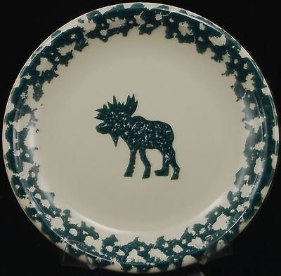 Tienshan Moose Country Salad Dessert Plate