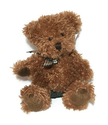 Russ Berrie Taubin Bear Christmas Gift Stuff Toy