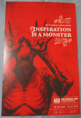 Guillermo del Toro Pan's Labyrinth At Home With Monsters Poster Fan Expo 2017