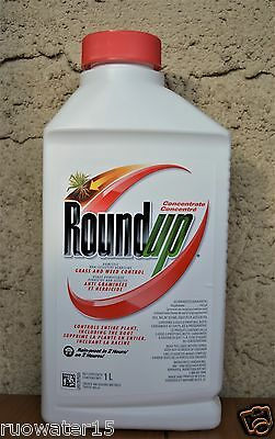 Roundup Concentrate Domestic Non-Selective Grass Weed Control 1L Herbicide
