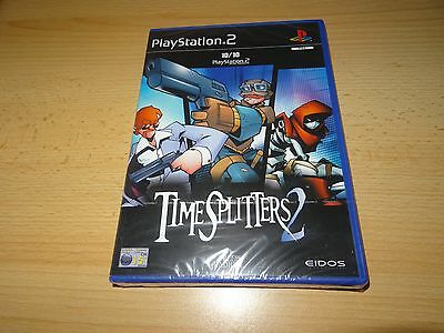 Timesplitters 2 ps2 new sealed pal version