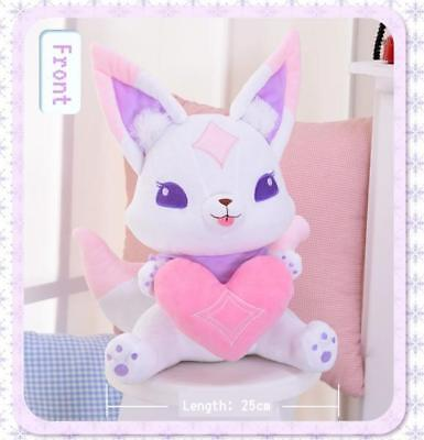 League of Legends LOL Star Guardian Ahri Mascot Pet Kiko Plushie
