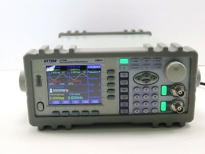 Atten ATF20D DDS Function Generator 20MHz (Power Tested)