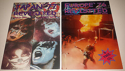 Kiss: 2 photo books europe 76 / japan 77 revisited