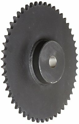 Martin Roller Chain Sprocket, Reboreable, Type B Hub, Single Strand, 50 Chain Si