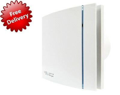 Envirovent Silent ''Designer'' Extractor Fan With Timer Quick Delivery!