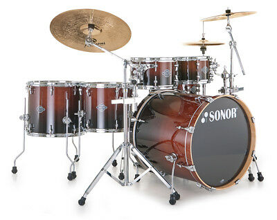 Sonor Essential Force Stage S Drive Drumset in Brown Fade