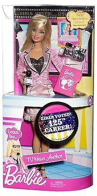 Barbie I Can Be News Anchor Doll..New In The Box!!!