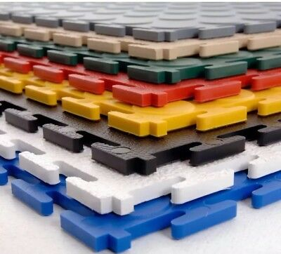 1 x Small SAMPLE coaster Of 7mm Pvc Interlocking exhibition Flooring Tiles shop