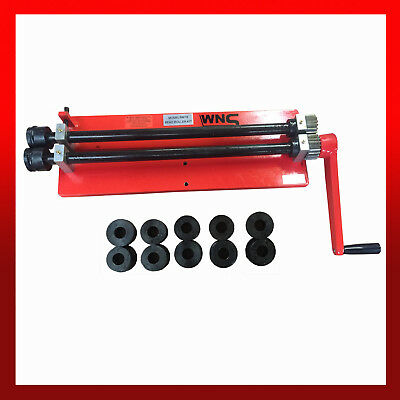 """WNS Bead Roller Former Swager Rotary Swaging Machine 457mm 18"""" 1.2mm 6 Roll Sets"""